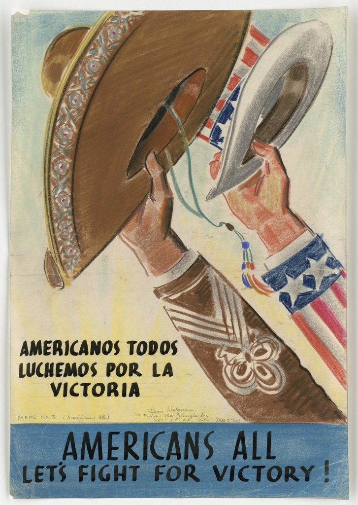 WWII Spanish Poster